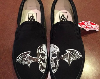 Made to Order AVENGED SEVENFOLD: DEATHBAT shoes