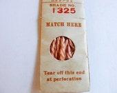 Antique 1904 Silk Embroidery Floss Belding Bros. Royal Floss Silk Dusty Peach