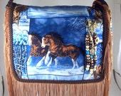 Running Horse Bag