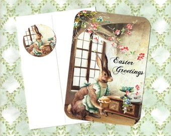 Easter Cards, Bunny Rabbit, Easter Greetings