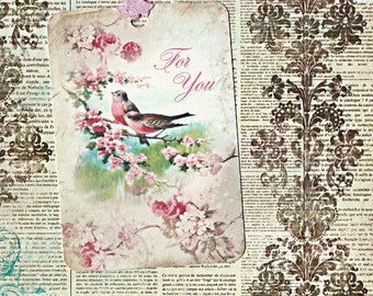 Gift Tags, Bird Tags, Bird Lover, For You