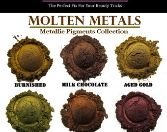 Mineral Eyeshadow-Molten Metals Collection-SAMPLER