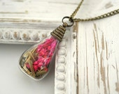 The wheat field A piece of nature Necklace