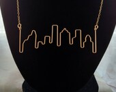 Houston Skyline Necklace