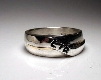Sterling Silver CTR Ring RF471