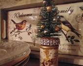 Table Decoration Thimble Bottle Brush Tree SALE