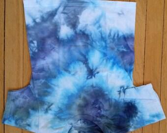 T-SHIRT CHILD MEDIUM Tiedye Blue & White Colors