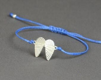 Sterling silver Wings bracelet