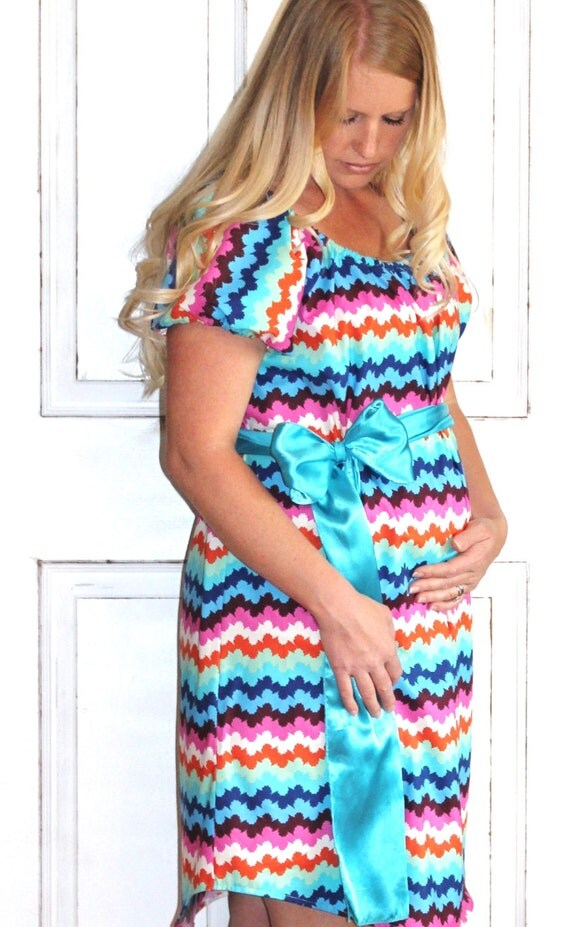Maternity Hospital Gown - Perfect for Nursing and Skin to Skin - Choose Options - Ready to Ship - Megan