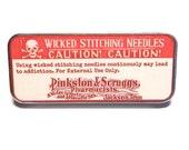 Magnetic Needle Case Needle Slider Case Wicked Stitching Needles