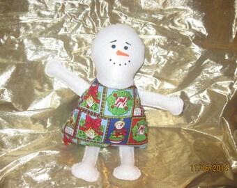 Festive Plush Snowman