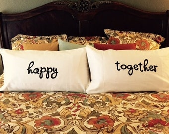 Happy Together Pillowcase Set