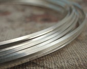 1/4 Troy Ounce HH - Square Sterling Silver Wire - Half Hard or Dead Soft - You PICK the Gauge -  Made in the USA