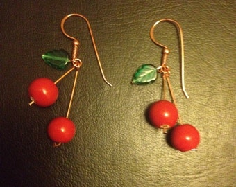 Cherry Bomb Earrings