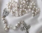 Swarovski Pearl Rosary