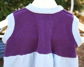 Upcycled Cashmere Girl's Dress