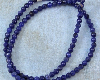 Sodalite 4mm Round Beads 60% off, qty 102