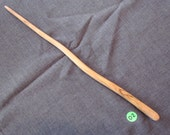 Magick Wand, Natural Olive Wood, Hand Carved, Wicca Witch Magic