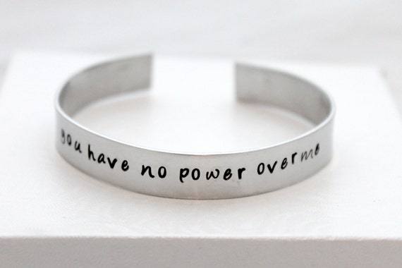You Have No Power Over Me, Labyrinth Movie Quote,  Labyrinth Jewelry, Labyrinth Bracelet,
