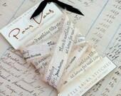 Handmade Silk Ribbon Trim Embellishment Jane Austen Staying At Home