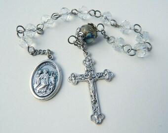Decade Saint Andrew Avellino Prayer Chaplet Rosary : Patron invoked Against Stroke and Sudden Death
