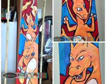Hand Painted tie - character work- YOU chose character