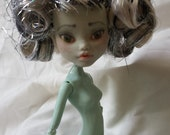 Monster High Repainted OOAK Custom Doll - Repaint, Upcycled, Frankie Stein, Fantasy, Art Doll, Nude for Collectors