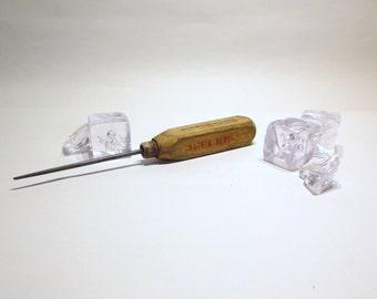 Vintage   Ice Pick- barware advertising