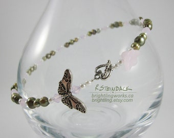 Petals & Wings; A Light and Lovely Versatile Necklace