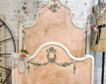 Painted Cottage Romantic Marie Antoinette French Bed