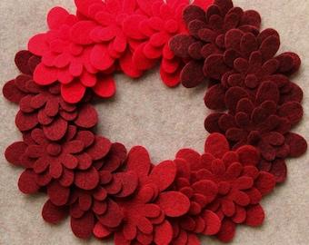 Wild Berries - Daisies - 36 Die Cut Felt Flowers