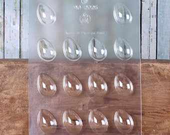 Easter Egg Chocolate Molds, Easter Egg Candy Molds, Small Chocolate Candy Molds, Easter Candy Molds, Easter Egg Candy Moulds, Easter Candy