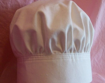 Chef's Hat Children's Baby's and Adult's sizes