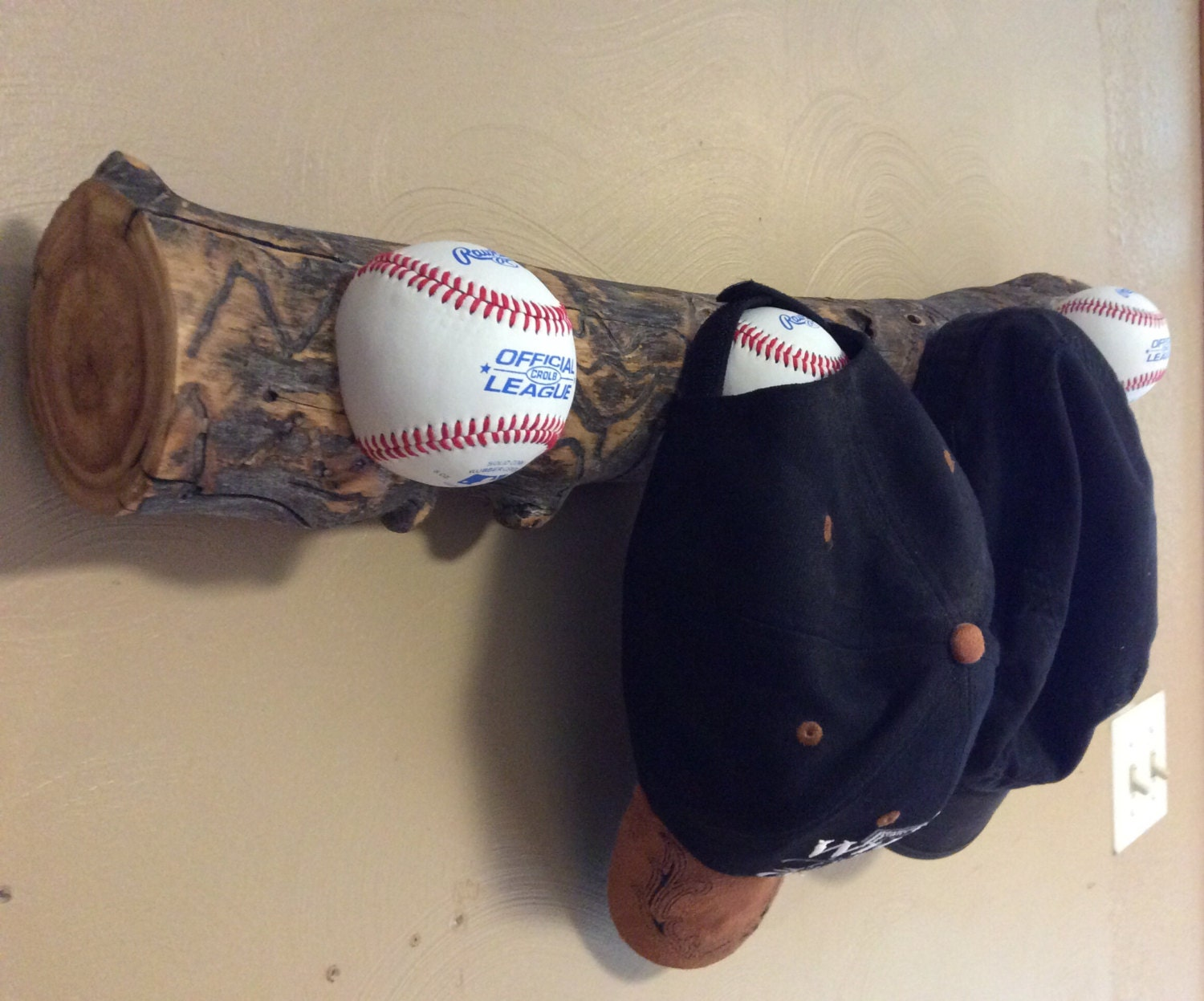 baseball hat rack made in the usa