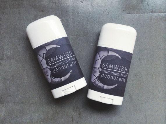 Aluminum-Free Deodorant // Organic // Large