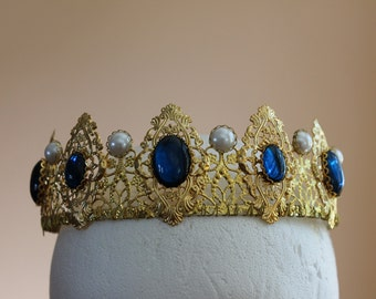 BYO Aurora Filigree Tiara Renaissance Medieval Game of Thrones Tudor Filigree Crown