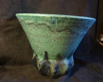 Wonderful Large Studio Art Pottery  Large  vase