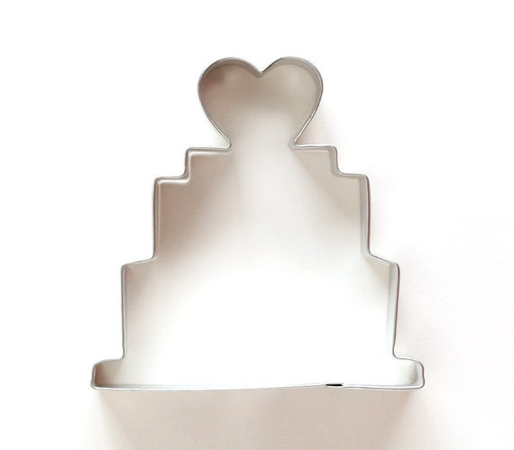 Wedding Cake Cookie Cutter By Sweet Estelles Baking Supply