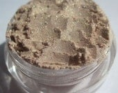 Soft | Semi-Sheer Pale Golden Brown Eye Shadow| Cruelty-Free| | Gold Highlights Vegan Mineral EyeShadow-Sweet Innocence