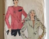 Vogue 7919 Misses Jacket Size 12 UNCUT