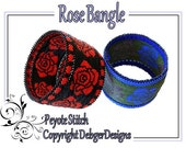 Rose Bangle - Beading Pattern Tutorial