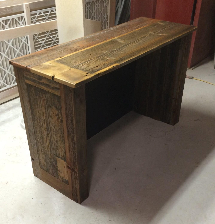 Reclaimed Barn Wood puter Desk