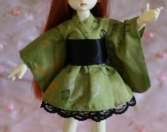 Elegance in Green - Wa Loli Lolita dress for Yosd BJD