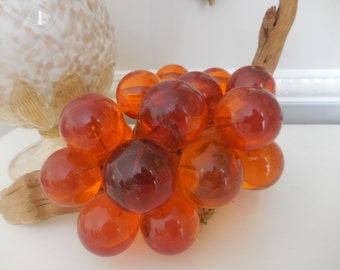Vintage Orange Grape Cluster
