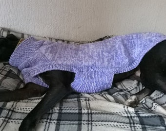 Knitting Patterns For Greyhound Sweaters : Greyhound sweater Etsy