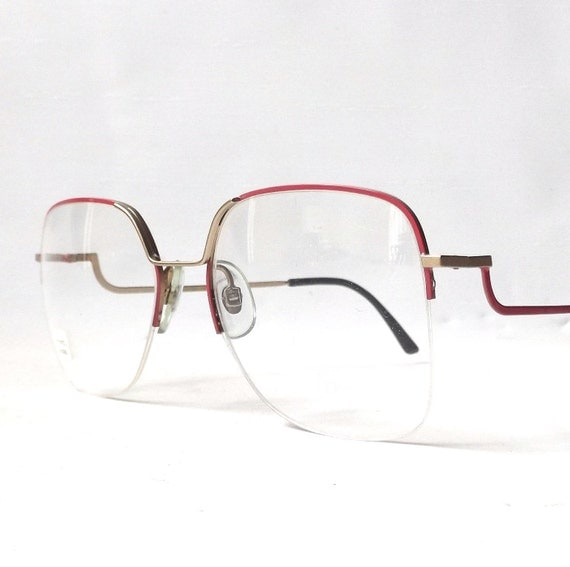 Vintage 1980s Nos Viva Eyeglasses Oversized By