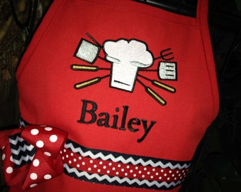 Girly Grill Chef Apron
