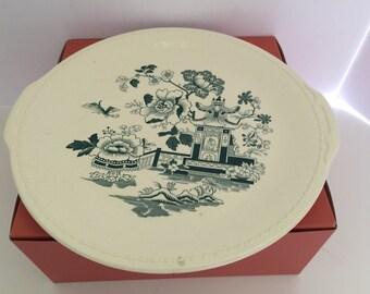 Vintage Taylor Smith Taylor Large Round Serving Platter