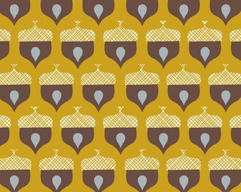 Organic Cotton Fabric- Monaluna- Westwood- ACORN - low shipping