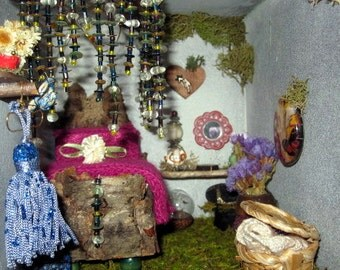 Tall Fairy House Repurposed